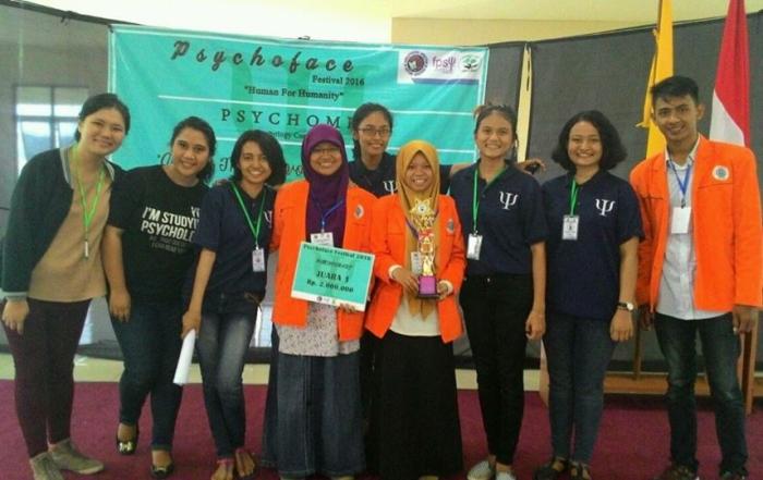 Psychosmart UAD Juara 1 dalam Psychompilation Tingkat Jawa-Bali