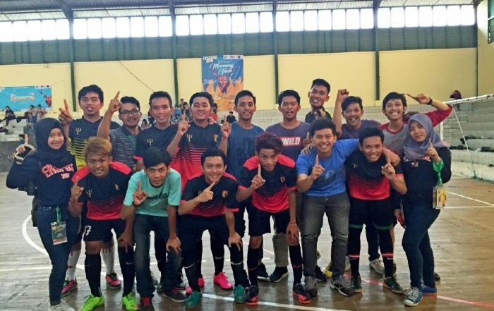 PSYCHOSOCCER Raih Juara 1 Kejuaraan Futsal Nasional