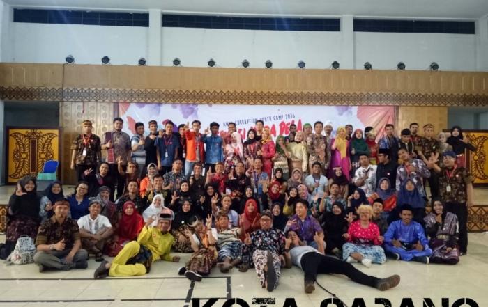 Mahasiswa Psikologi Ikuti Youth Camp Anti Corruption