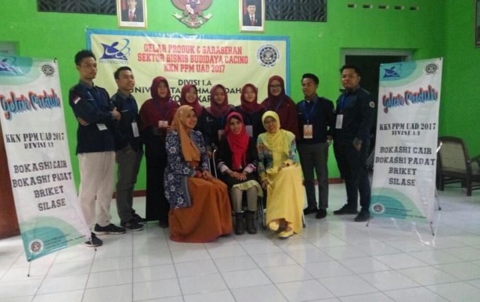 KKN PPM UAD di Godean Sukses Adakan Gelar Produk  dan Seminar Kewirausahaan