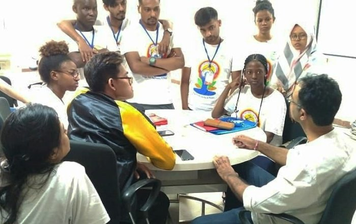 Mahasaiswa Psikologi UAD Ikuti CAMP di India