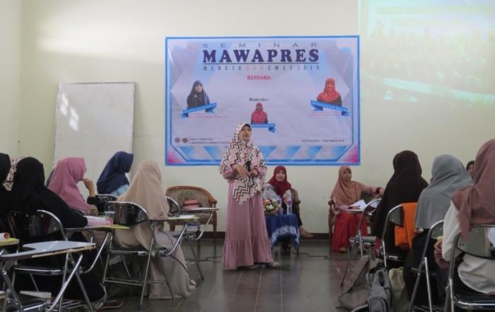 Seminar Mawapres : Menuju UAD Emas 2019